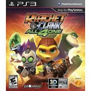SONY Sony PlayStation 3 Game PS3 RATCHET AND CLANK ALL 4 ONE