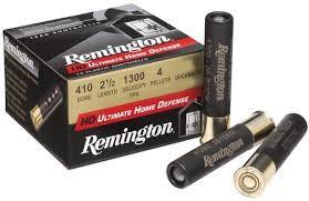"REMINGTON FIREARMS Ammunition HD ULTIMATE .410 2 1/2"" 000BUCKSHOT"