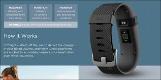 FitBit - Charge HR - Large - Wireless Fitness Activity Tracker