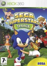 MICROSOFT Microsoft XBOX 360 Game SEGA SUPERSTARS TENNIS