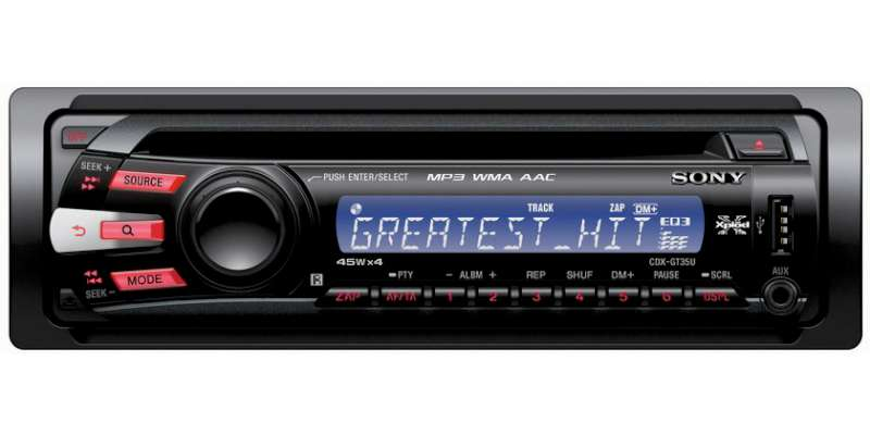 SONY Car Audio CDX-GT35U