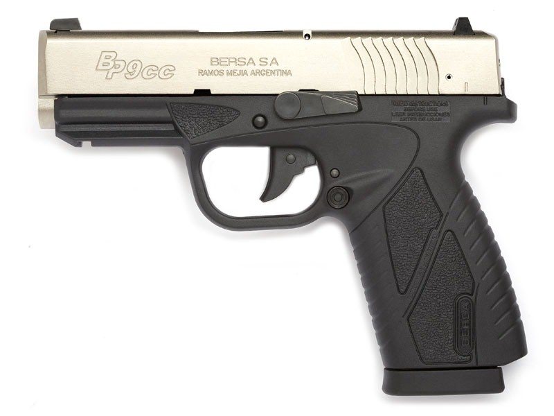 Bersa Model BP9CC 9mm Semi Auto Pistol