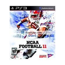 SONY Sony PlayStation 3 Game NCAA FOOTBALL 11
