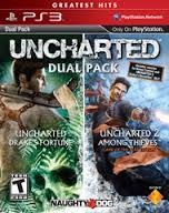 SONY Sony PlayStation 3 PS3 UNCHARTED DUAL PACK GAME