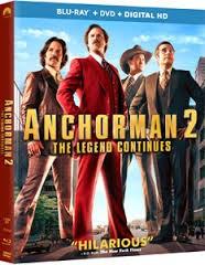 BLU-RAY MOVIE DVD ANCHORMAN 2