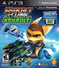 SONY Sony PlayStation 3 Game RATCHET AND CLANK: FULL FRONTAL ASSAULT