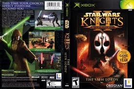MICROSOFT Microsoft XBOX Game STAR WARS KNIGHTS OF THE OLD REPUBLIC II