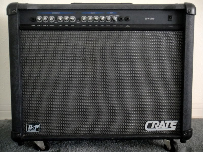 CRATE Electric Guitar Amp GFX-212