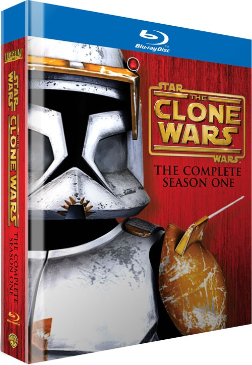 BLU-RAY MOVIE Blu-Ray STAR WARS THE CLONE WARS THE COMPLETE SEASON ONE