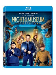 BLU-RAY MOVIE Blu-Ray NIGHT AT THE MUSEUM SECRET OF THE TOMB