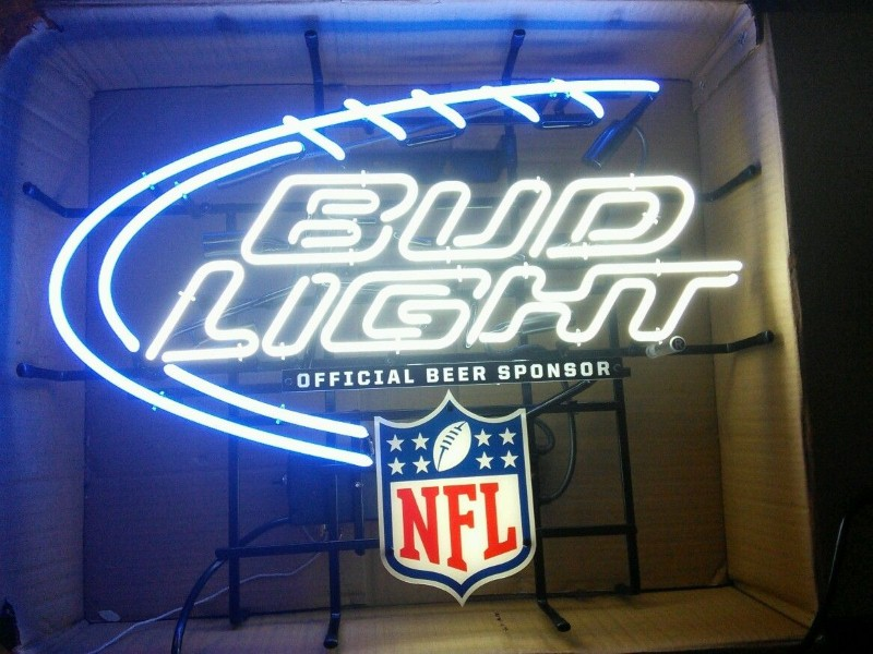 BUD LIGHT Sign NEON SIGN