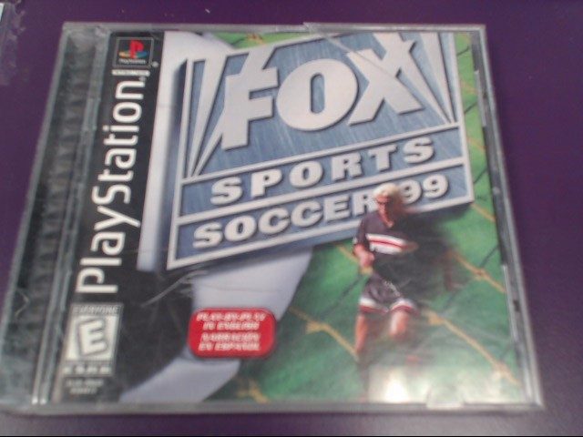 SONY Sony PlayStation FOX SPORTS SOCCER 99