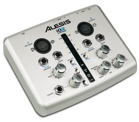 ALESIS iO2 Express USB Digital Recording Interface