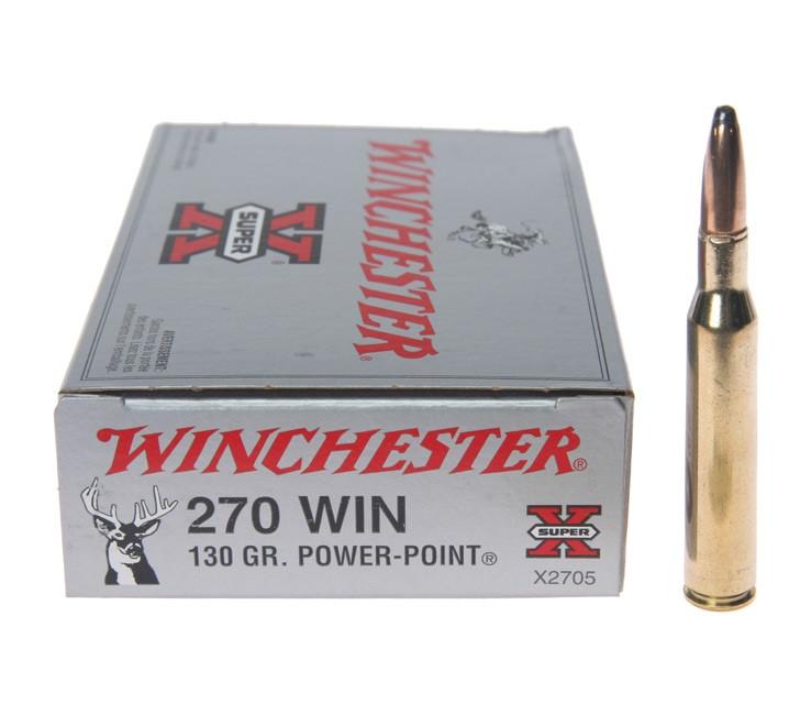 WINCHESTER Ammunition .270 WIN 130 GR POWER POINT