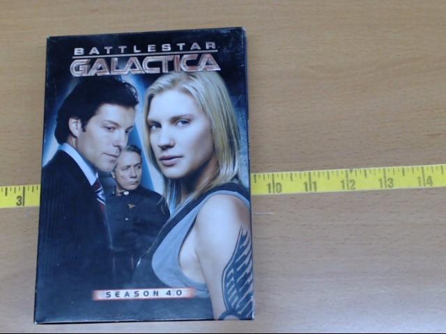 UNIVERSAL STUDIOS DVD BATTLESTAR GALACTICA SEASON 4.0