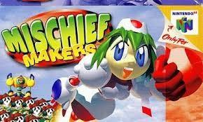 NINTENDO Nintendo 64 Game MISCHIEF MAKERS