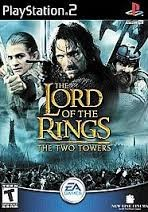 SONY Sony PlayStation 2 Game THE LORD OF THE RINGS THE TWO TOWERS - PS2