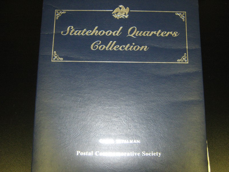 POSTAL COMMEMORATIVE SOCIETY STATEHOOD QUARTERS COLLECTION