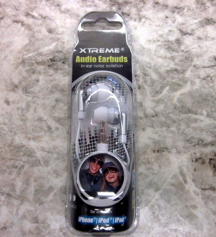 XTREME Headphones AUDIO EARBUDS 93201