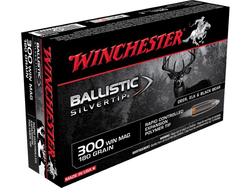WINCHESTER Ammunition BALLISTIC SILVERTIP 300 WIN MAG
