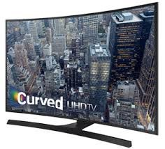 "Samsung 4K 55"" Curved Smart LED TV"