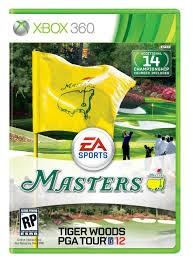 MICROSOFT Microsoft XBOX 360 Game XBOX 360 MASTERS TIGER WOODS PGA TOUR 12