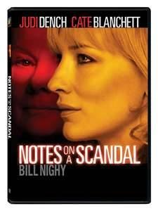 DVD MOVIE DVD NOTES ON A SCANDAL