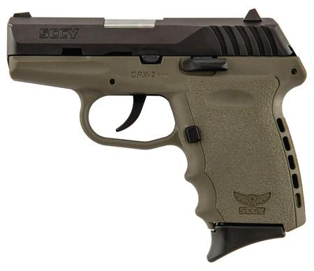 SCCY Industries Model CPX2 CBDE 9mm Semi Auto Pistol