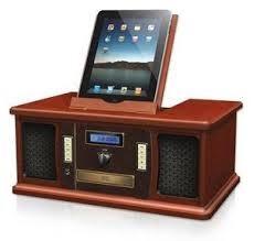 Innovative Technology ITVS-850I Vintage iPad/iPod Docking