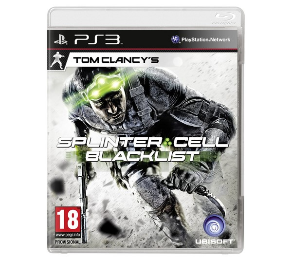 SONY Sony PlayStation 3 Game PS3 SPLINTER CELL BLACKLIST