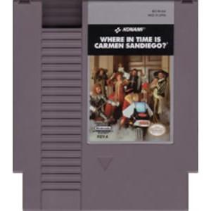 NINTENDO Nintendo SNES Game WHERE IN TIME IS CARMEN SANDIEGO?