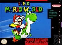 NINTENDO Nintendo SNES Game SUPER MARIO WORLD SNES