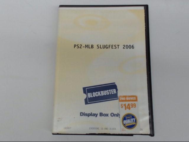 SONY Sony PlayStation 2 PS2 MLB SLUGFEST 2006