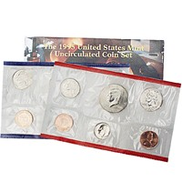 UNITED STATES Mint Set 1995 UNCIRCULATED SET