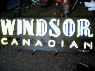 WINDSOR Sign NEON SIGN