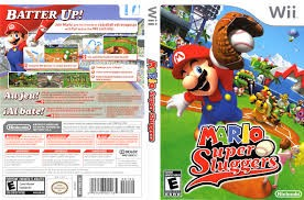 NINTENDO Nintendo Wii Game WII MARIO SUPER SLUGGERS