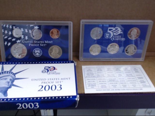 UNITED STATES Mint Set MINT PROOF SET 2003