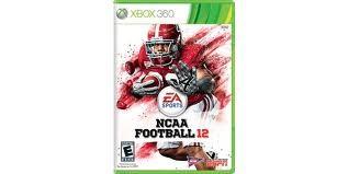 MICROSOFT Microsoft XBOX 360 Game NCAA FOOTBALL 12