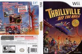NINTENDO Nintendo Wii Game WII THRILLVILLE OFF THE RAILS