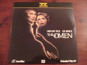 LASER DISC Laser Disk THE OMEN