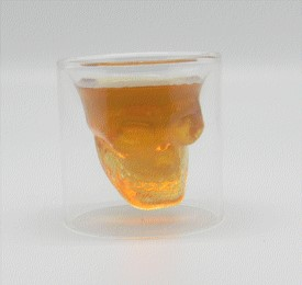 FANTASY GIFTS 2477 DOOMED SHOT GLASS