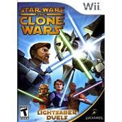 NINTENDO Nintendo Wii Game STAR WARS THE CLONE WARS LIGHTSABER DUELS