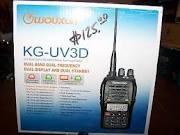 WOUXUN 2 Way Radio/Walkie Talkie KG-UV3D
