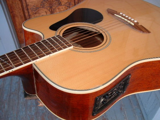 ALVAREZ Acoustic Guitar AD-60SC NAT