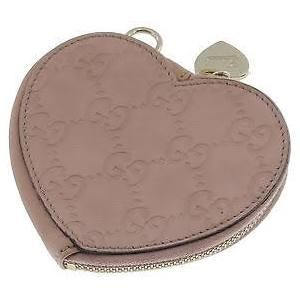 GUCCI 152615 HEART SHAPED COIN WALLET