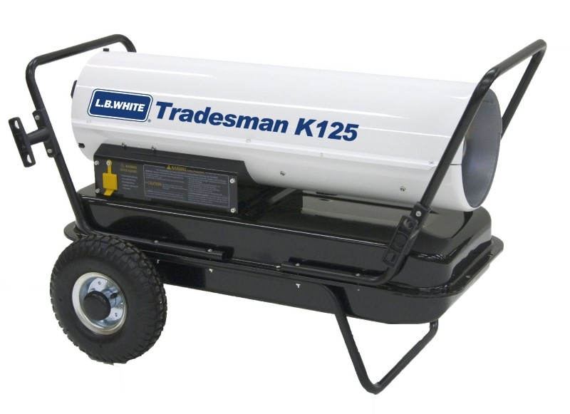 L.B. WHITE Heater TRADESMAN K125