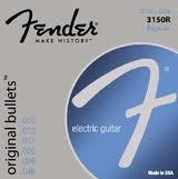 FENDER 3150R ORIGINAL BULLETS ELECTRIC GUITAR STRINGS REGULAR GAUGE
