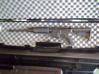 OLYMPIC ARMS Rifle PPFT-6.5G