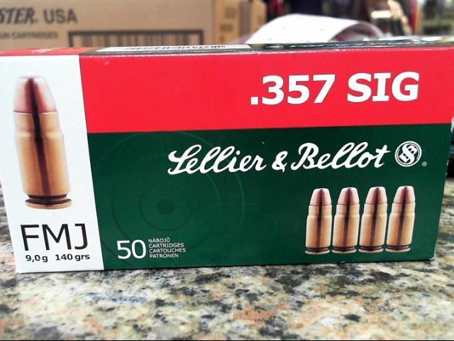 SELLIER & BELLOT Ammunition 357 SB357SIG