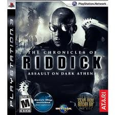 SONY Sony PlayStation 3 Game THE CHRONICLES OF RIDDICK ASSAULT ON DARK ATHENA